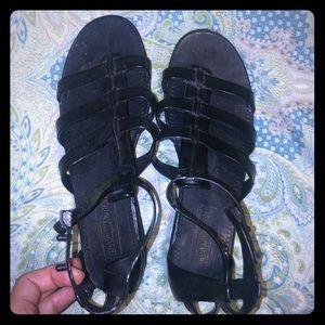 BCBG Max Azria gladiator jelly sandal